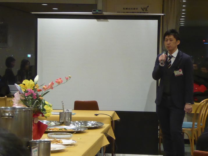 札幌市の阿部さんよりも応援コメントをいただきました。